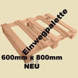 Einwegpalette-600x800mm- 25 Stück-Neuware - 1