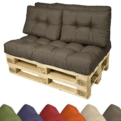 palettenkissen f r europaletten 120x40x10 20cm w hlbar mit auflage. Black Bedroom Furniture Sets. Home Design Ideas