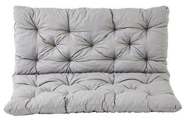 Sitzkissen mit Rückenkissen – Farben wählbar - 1