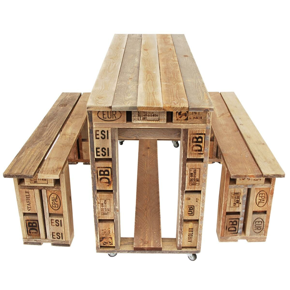 ᐅ Palettentische Bauen Kaufen Tisch Aus Paletten Shop