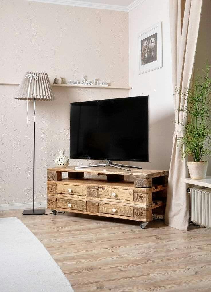 TV Schrank aus Europaletten