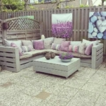 lounge-aus-paletten outdoor