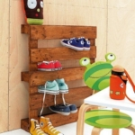 Schuhregal aus Paletten- Möbel aus Europaletten