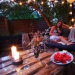 Gartenmöbel aus Paletten-Lounge- Garden