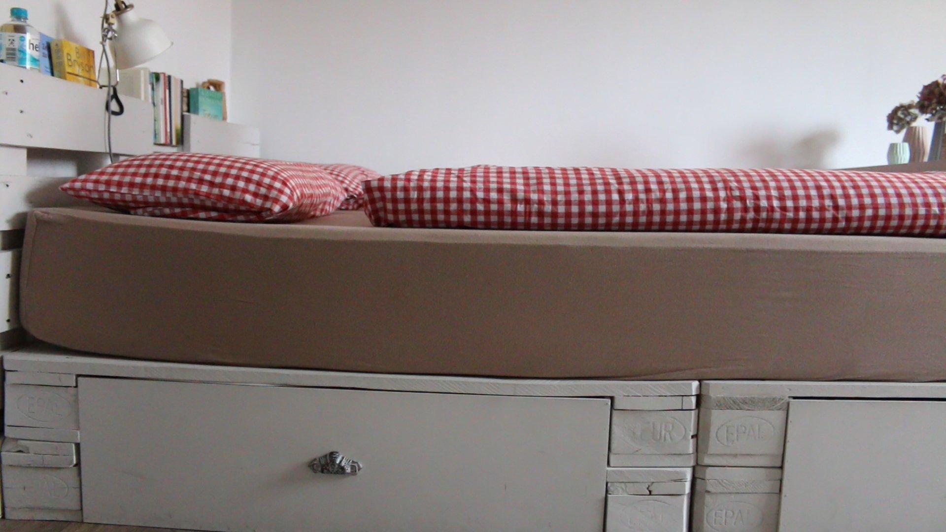 Matratze für Paletten