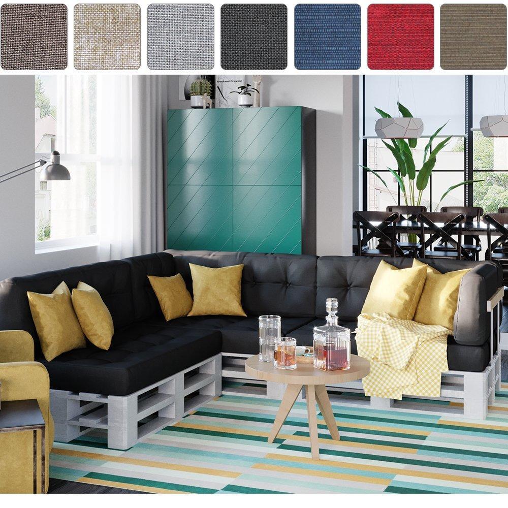 ᐅ Balkonmöbel & Terrassenmöbel aus Paletten | Anleitungen & Ideen