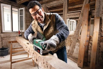Bosch DIY Bandschleifer PBS 75 AE - 750 W - Schleiffläche 76x165 mm - Bandabmessung 75x533 mm-4