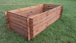 Hochbeet Holzkomposter - Holz Stecksystem-2