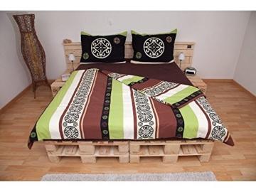Palettenbett - Doppelbett aus hochwertigen Möbelpaletten - wählbar mit neuen oder gebrauchten Paletten-4