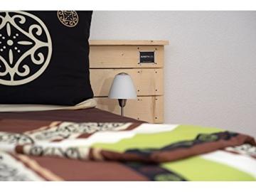 Palettenbett - Doppelbett aus hochwertigen Möbelpaletten - wählbar mit neuen oder gebrauchten Paletten-6