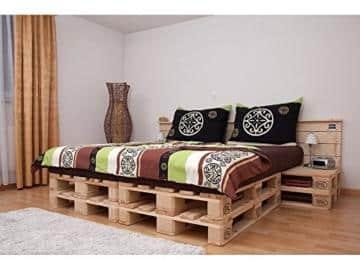 palettenbett doppelbett aus hochwertigen m belpaletten 2 varianten. Black Bedroom Furniture Sets. Home Design Ideas