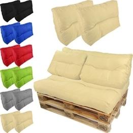 sitzkissen mit r ckenkissen f r palettenm bel farben w hlbar g nstig. Black Bedroom Furniture Sets. Home Design Ideas