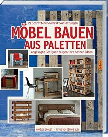 Taschenbuch-Palettenmöbel Ideen selber bauen