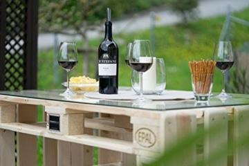 Palettenmöbel Sitzgruppe-Tisch aus Europaletten-6
