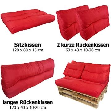 Palettenpolster - Sitzkissen und Auflagen für Palettenmöbel - Sofa - Couch - Sessel-3
