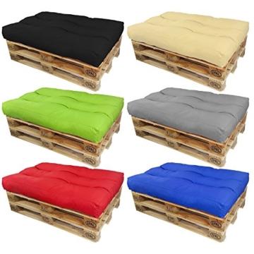 palettenpolster sitzkissen und auflagen f r palettenm bel viele farben. Black Bedroom Furniture Sets. Home Design Ideas