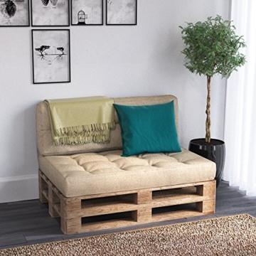 Seitenkissen - Sitzkissen und Palettenkissen Sets - verschiedene Farben -6