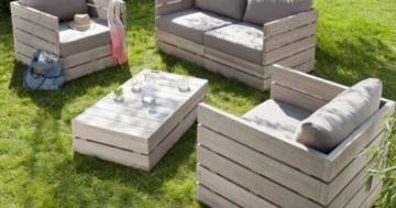 tisch aus paletten europaletten ideen anleitungen. Black Bedroom Furniture Sets. Home Design Ideas