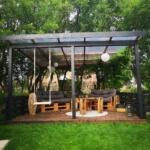 Terrasse aus paletten selber bauen