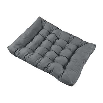 En.Casa Palettenkissen Set - 7-teilig - Sitzpolster + Rückenkissen - Paletten-Sofa Polster - Indoor & Outdoor-8