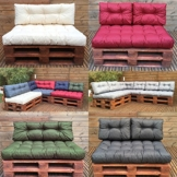 Palettenkissen - Palettenauflage - Sitzkissen - Rückenkissen - Outdoor Sets-2