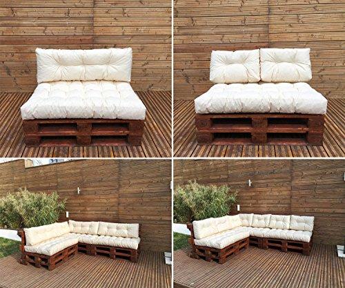 Palettenkissen - Palettenauflage - Sitzkissen - Rückenkissen - Outdoor Sets-4