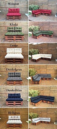 Palettenkissen - Palettenauflage - Sitzkissen - Rückenkissen - Outdoor Sets-8