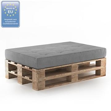 Palettenkissen - Sitzkissen - Rückenkissen - Seitenkissen - Set-2