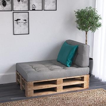 Palettenkissen - Sitzkissen - Rückenkissen - Seitenkissen - Set-8