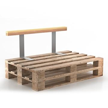 set holzlehne lehne f r palettenm bel 110cm 70cm shop. Black Bedroom Furniture Sets. Home Design Ideas