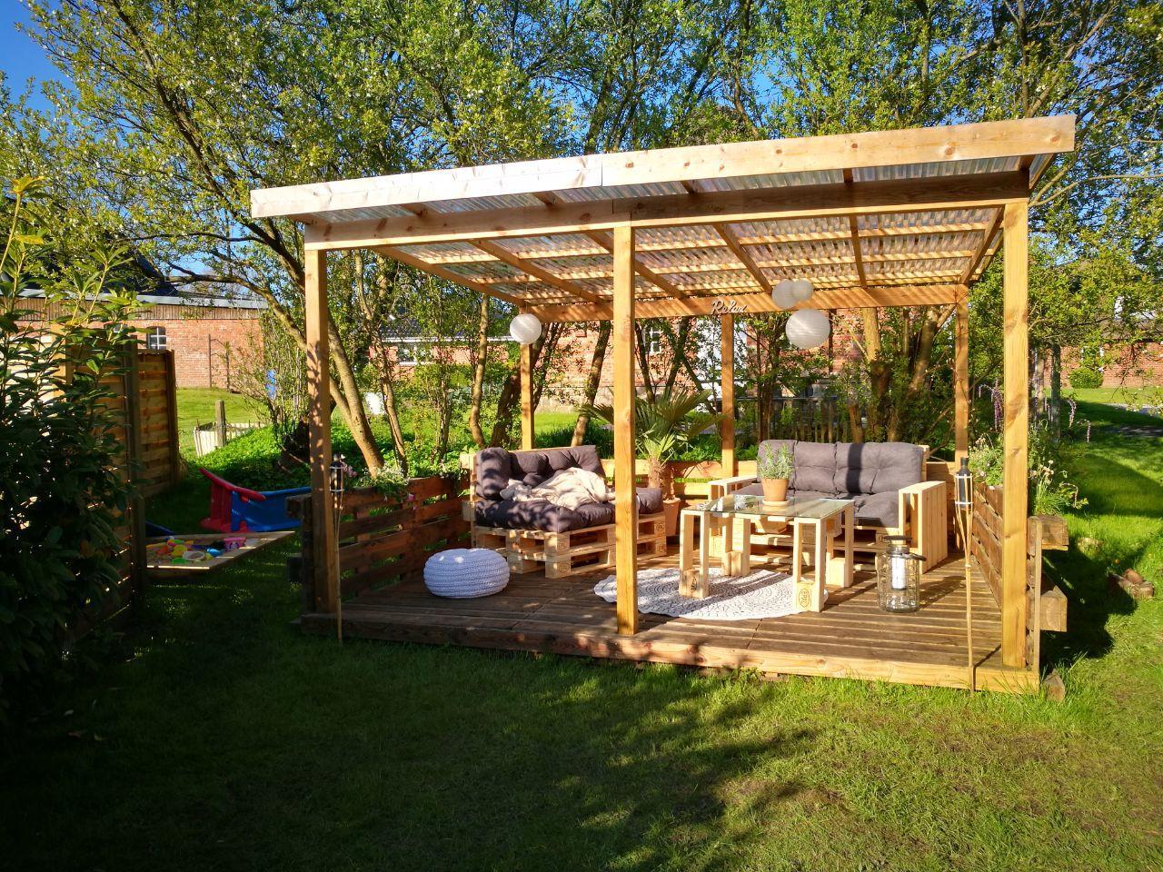 Paletten Lounge-Palettenlounge-Möbel