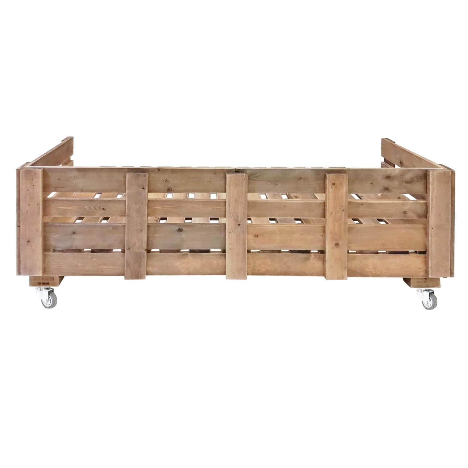 Couch aus Europaletten Palettensofa