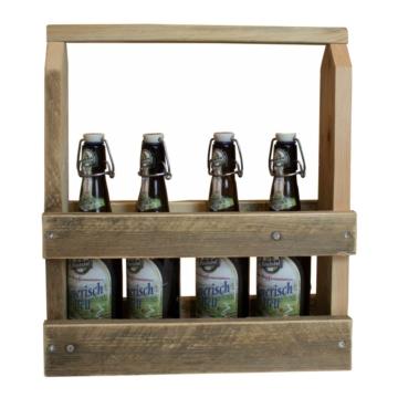 Flaschentraeger aus Europaletten