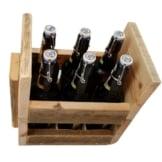 Flaschentraeger aus Paletten