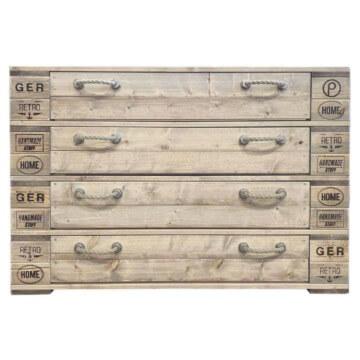 Kommode mit Schubladen aus Eruopaletten Palettenmoebel