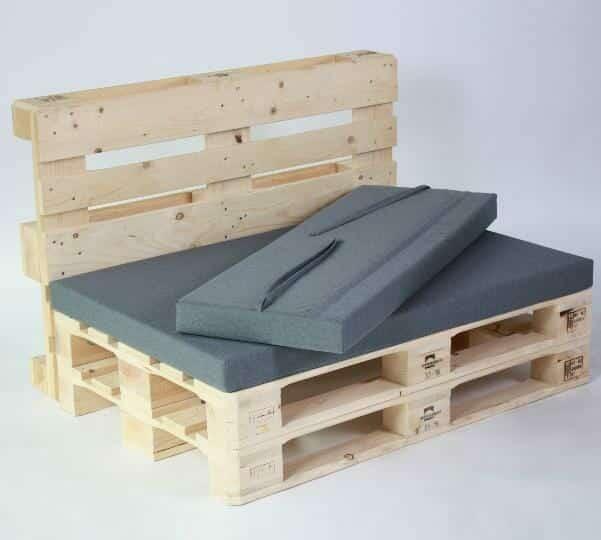 Palettenlounge modul mit kissen set palettenm bel shop for Sofa aus europaletten kaufen