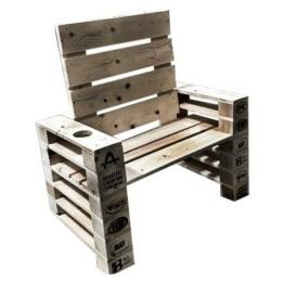 Palettenmoebel Lounge Sessel Europaletten
