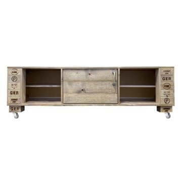 sideboard tv schrank aus paletten palettenm bel shop. Black Bedroom Furniture Sets. Home Design Ideas