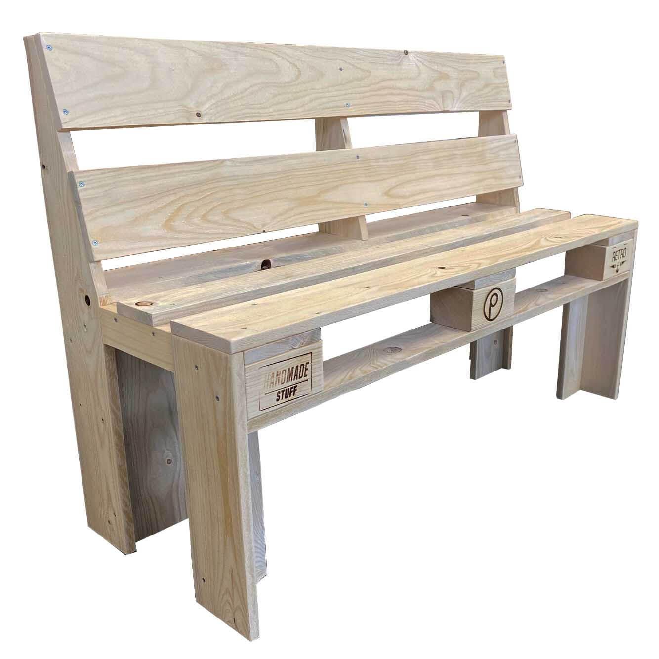 ᐅᐅ Sitzbank aus Paletten kaufen | Palettenmöbel Shop