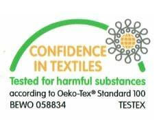 Testex-Test Palettenkissen Marke