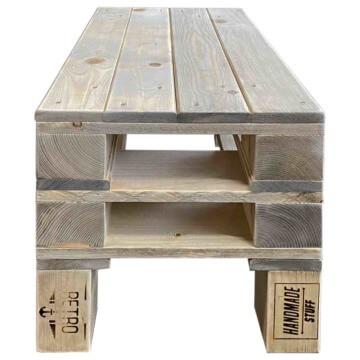Tisch aus Europaletten Beistelltisch Palettenmoebel