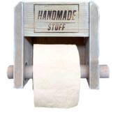 Toilettenpapier Halterung Europaletten Palettenmoebel