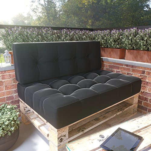palettenkissen palettenpolster set kaufen shop. Black Bedroom Furniture Sets. Home Design Ideas
