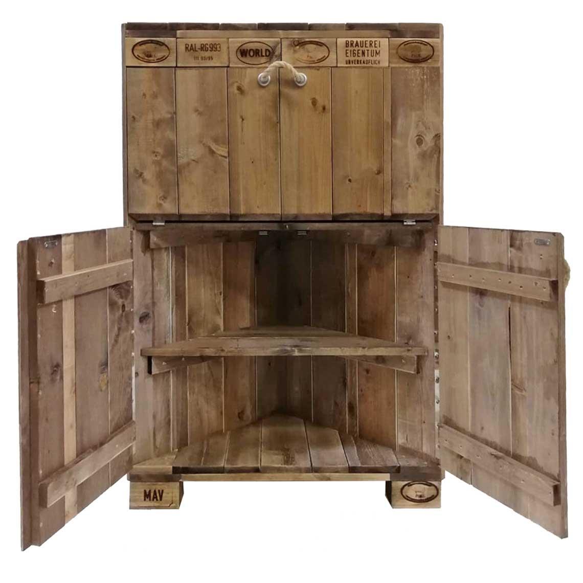ᐅᐅ Schrank aus Paletten kaufen & bauen  Palettenmöbel Shop