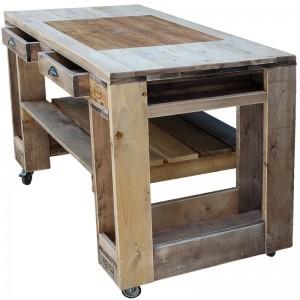 Grilltisch aus Paletten-Grill Tisch aus Europaletten (5)