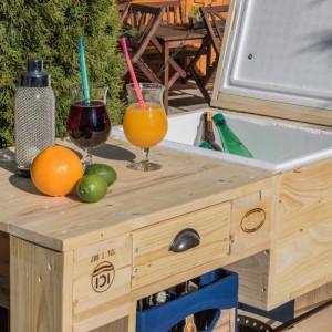 Grilltisch aus Paletten-Palettenmöbel Tisch-Cool (1)