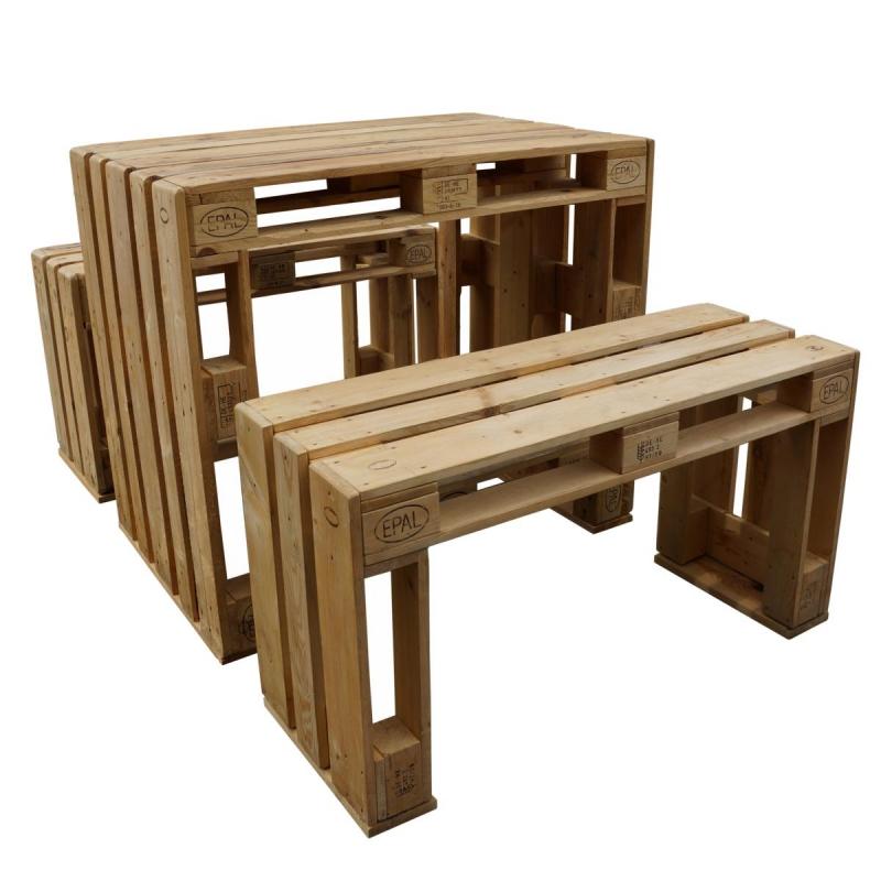 ᐅ Palettentische bauen & kaufen | Tisch aus Paletten - Shop