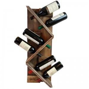 Weinregal aus Paletten-Regal Europaletten (4)