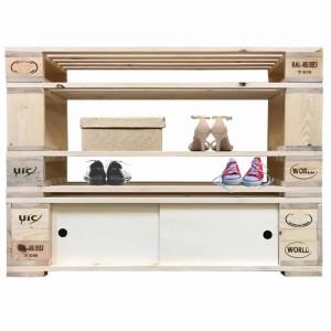 Schuhregal-Schuhschrank-aus-Paletten-Palettenmöbel-5