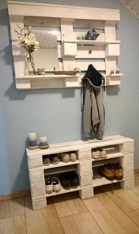 tisch aus paletten palettenm bel ideen selber bauen oder kaufen. Black Bedroom Furniture Sets. Home Design Ideas